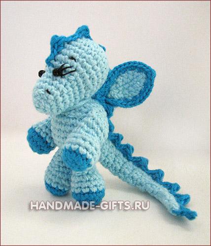 вязаный дракон, амигуруми. дракоша гоша, дракон вязаный, купить дракона вязаного, символ 2012 года.