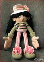 Мастер-класс Кукла вязанная крючком