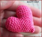 Мастер-класс - вязанное сердце крючком - вяжем сердце на день Святого Валентина