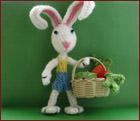 Мастер-класс вязаного зайца