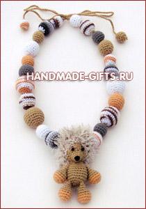 Вязаный крючком Ежик Феня - купить ежа ежика ежики ежата Авторская работа Вязаная игрушка handmade-gifts подарки ручной работы купить