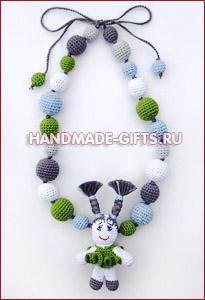 Украшения ручной работы Слингобусы (мамабусы) Кукла Девочка - купить подарки ручной работы handmade-gifts символ 2011 года
