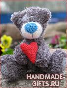 Вязаный медвежонок Тедди ЛяМур купить
