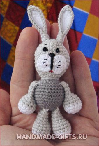 купить зайчика миниатюра заяц амиругуми