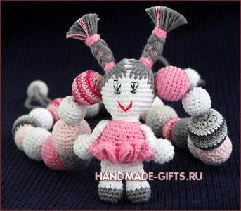 слингобусы купить, мамабусы, кормительные бусы, вязаные бусы, слингобусы с куклой