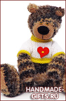 вязаный мишка, купить вязаный медведь, вязаный мишка купить, вязаные игрушки, купить вязаные игрушки