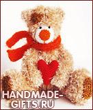 вязаный мишка, медведь, вязать мишку, купить вязаного мишку, вязаные игрушки