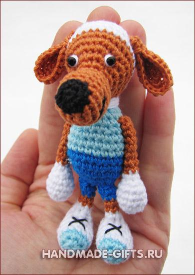 купить вязаная собака, купить вязаная собачка, собака крючком, собака рузи, рузи, вязаная собака, вязаные игрушки