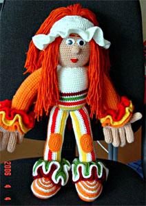 Мастер-класс: вязать куклу крючком