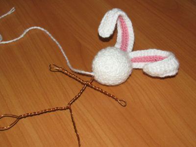 Мастер-класс: вязать зайца