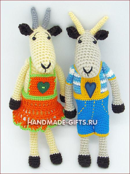 мастер-класс по вязанию, мастер-класс в москве, вяжем козу, коза символ 2015 года, вязать козу, мастер класс